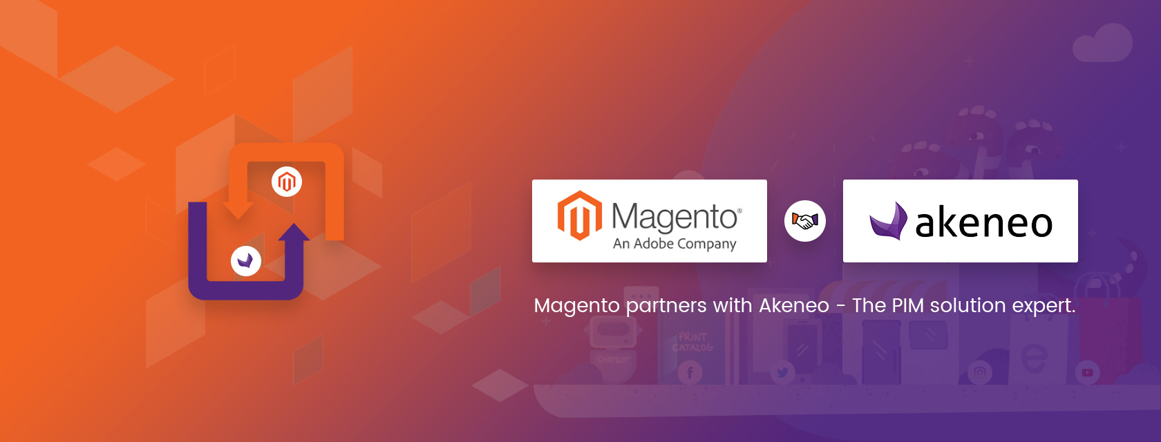 Magento partners with Akeneo –<br>The much-needed strength for Magento.